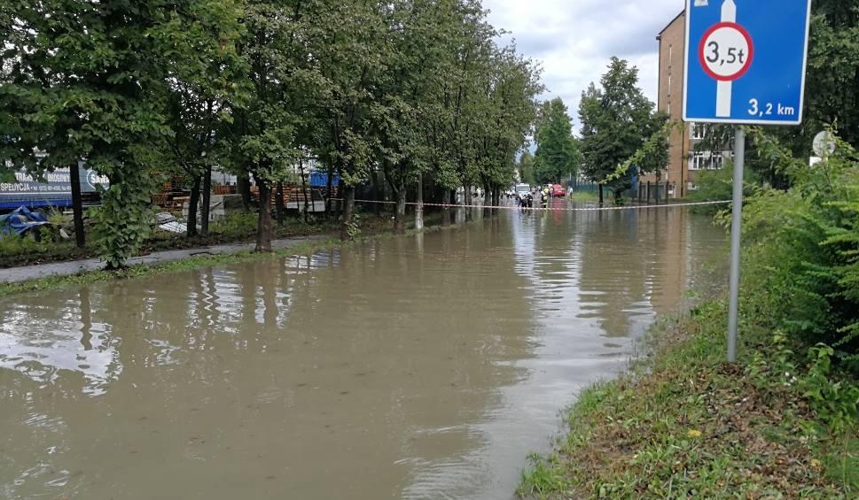 Film do artykułu: Burze nad Podkarpaciem: od wczoraj blisko 150 interwencji strażaków