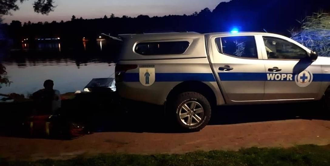 Akcja ratunkowa była w poprzednią niedzielę. Mężczyźni są cali i zdrowi. Łódka z silnikiem, którą płynęli, zatonęła.