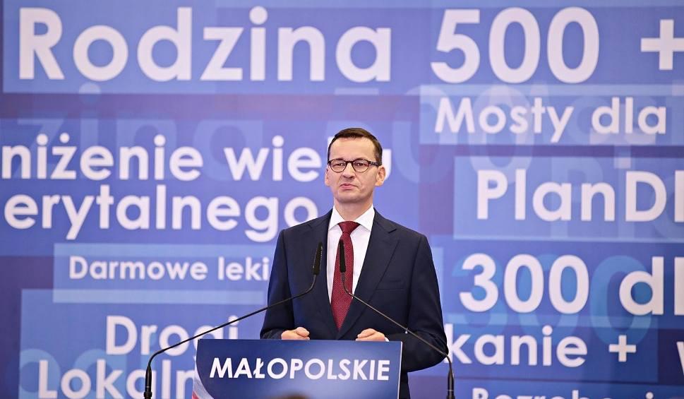 Film do artykułu: Jacek Majchrowski pozwie Mateusza Morawieckiego w trybie wyborczym? Chodzi o wypowiedź premiera o smogu