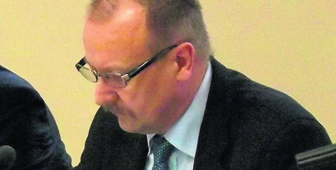 Jednym ze zwolenników idei wyniesienia Urzędu Miasta z centrum jest Marek Młynarczyk (PiS)