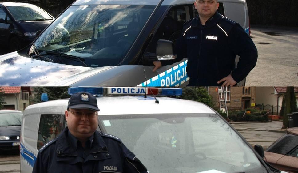 Film do artykułu: Policjanci z Lubska uratowali kobietę z płonącego domu [ZDJĘCIA]