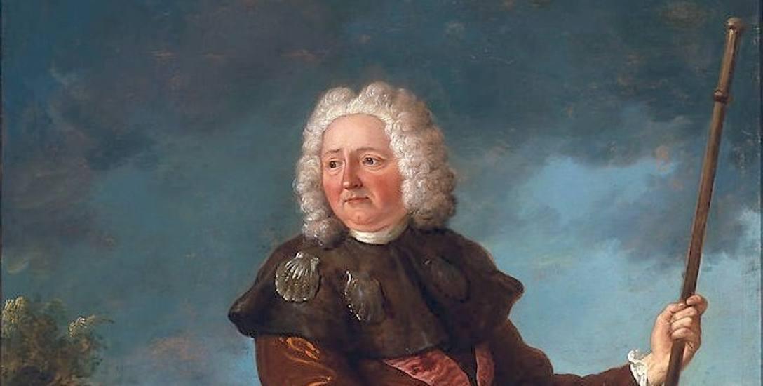 Jean-Baptiste Oudry, Portret króla Stanisława Leszczyńskiego w stroju pielgrzyma z 1730 roku