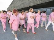 Protest w Centrum Zdrowia Dziecka był sygnałem ostrzegawczym