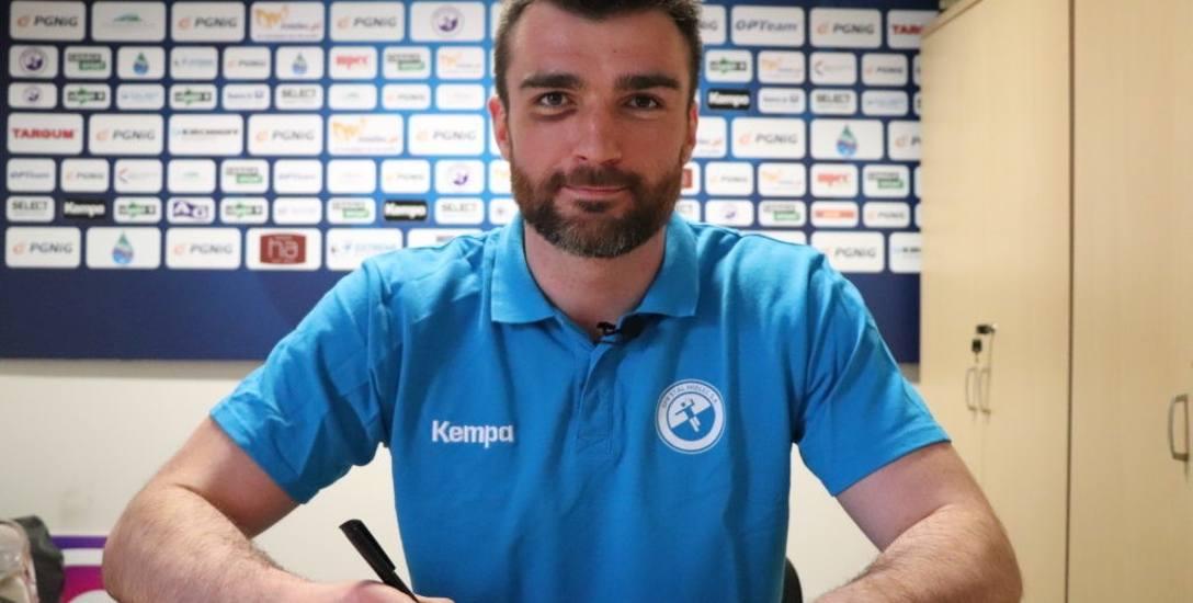 Wiktor Jędrzejewski od piątku (12 kwietnia) znów jest zawodnikiem SPR Stali Mielec