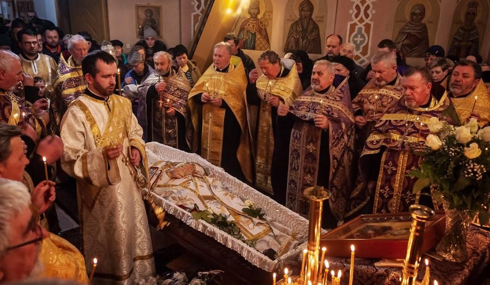 Film do artykułu: Ks. mitrat Mikołaj Szebelan nie żyje. Pierwszy proboszcz parafii św. Jerzego Zwycięzcy w Siemianówce (zdjęcia)