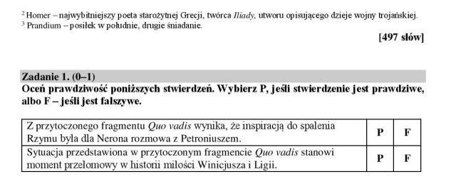 egzamin ósmoklasisty pdf język polski