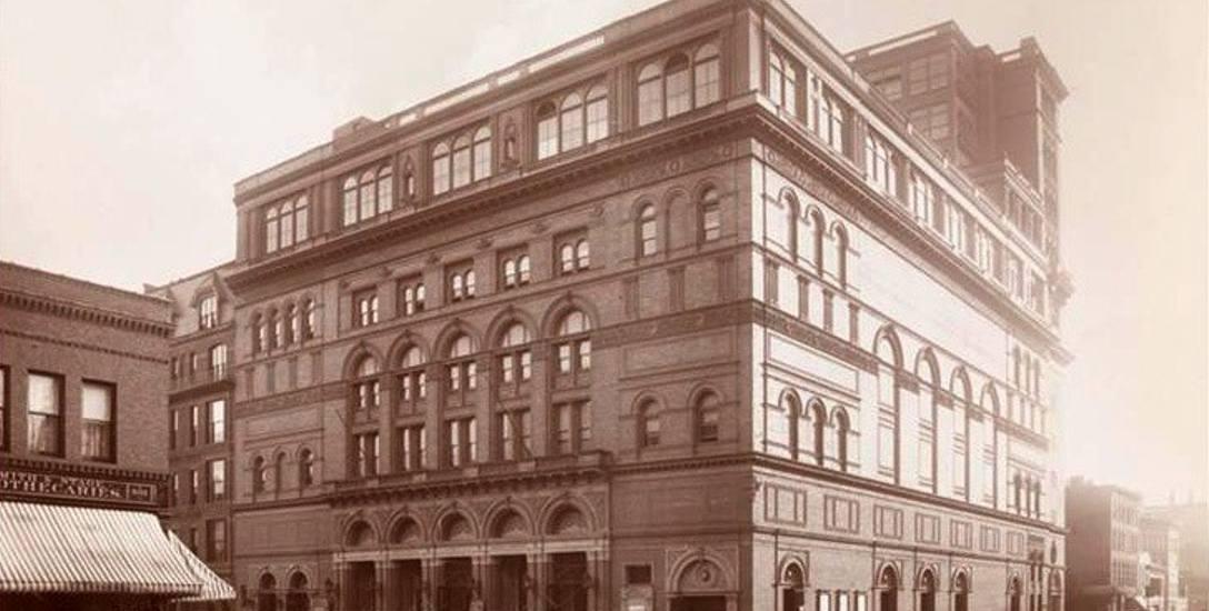 Carnegie Hall w 1895 roku