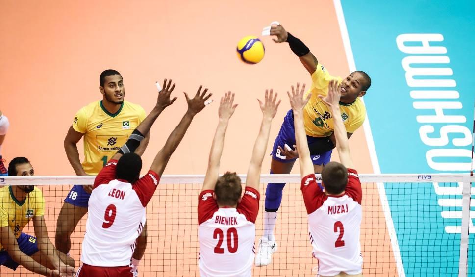 Film do artykułu: Puchar Świata siatkarzy. Polska przegrała z Brazylią po pięciu setach wielkiej gry