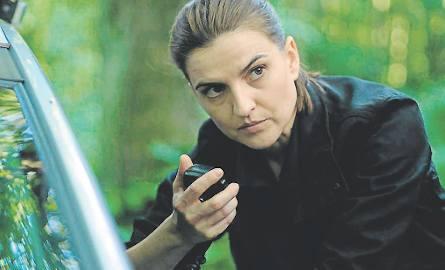 Magdalena Czerwińska wciela się w rolę detektyw z wydziału zabójstw i terroru kryminalnego