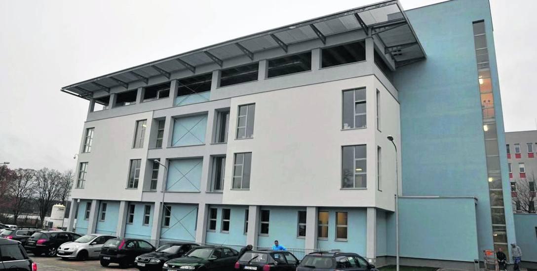 Nowy gmach szczecineckiego szpitala, tu mieści się ortopedia i oddział wewnętrzny