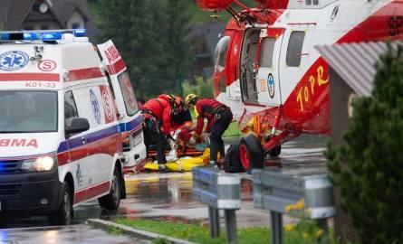 Tragedia w Tatrach. 27 osób pozostaje w małopolskich szpitalach