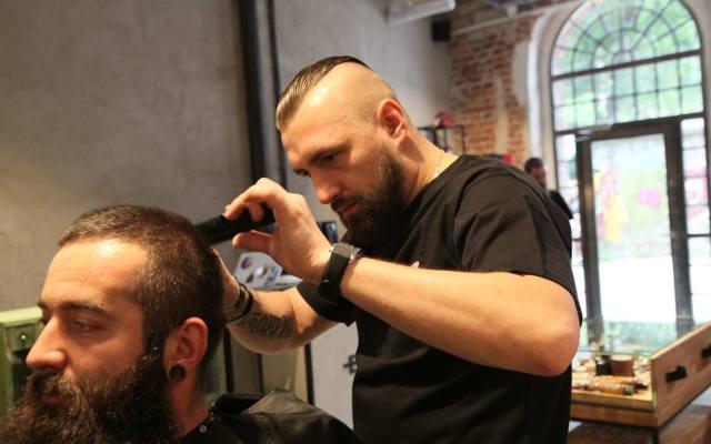 Salon fryzjerski lodz