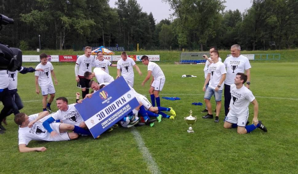 Film do artykułu: Regionalny Puchar Polski: Święto w Łaziskach Górnych i historyczny awans Śląska Świętochłowice WIDEO