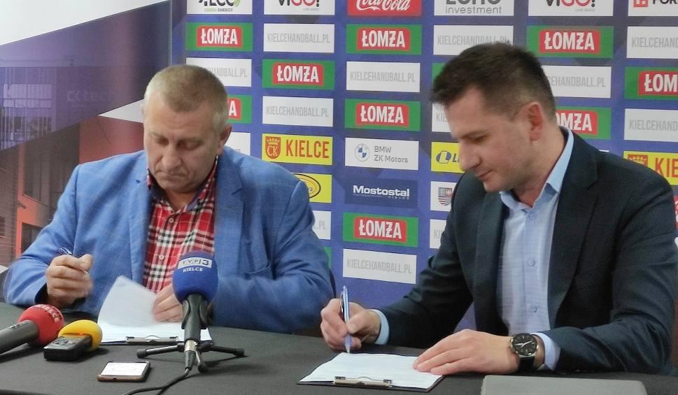 Film do artykułu: Łomża Vive Kielce przedłużyło umowę w dużym sponsorem [ZDJĘCIA, VIDEO]
