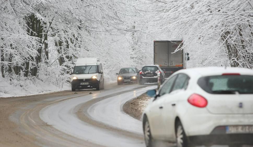 Film do artykułu: IMGW ostrzega przed intensywnymi opadami śniegu w kilku powiatach Podkarpacia