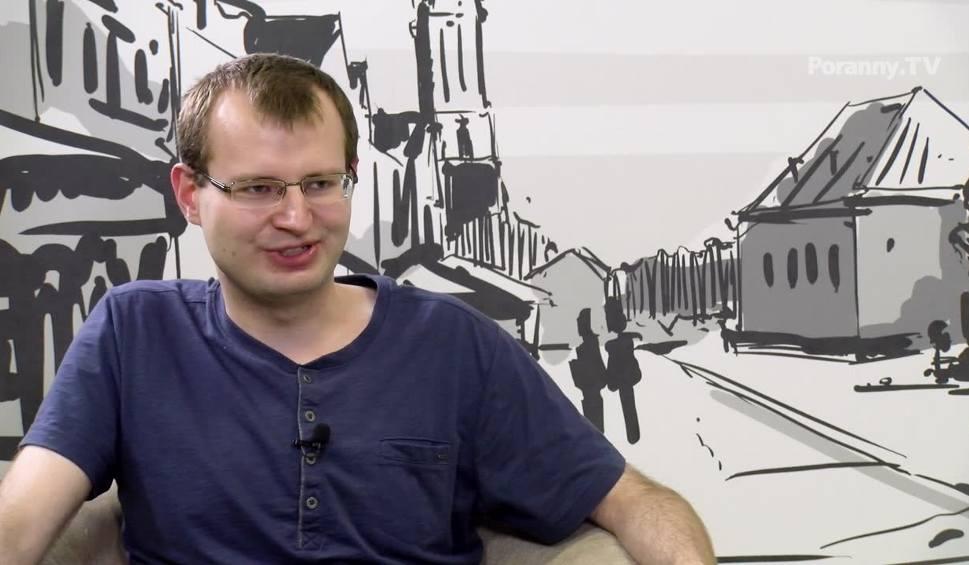 Film do artykułu: Gość Porannego. Łukasz Koleśnik o komunikacji miejskiej