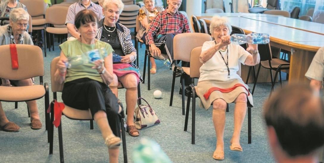 Żeby seniorzy  żyli pełnią życia