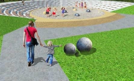 Park Ludowy. Dydaktyczny ogród wodny w miejscu obecnego amfiteatru