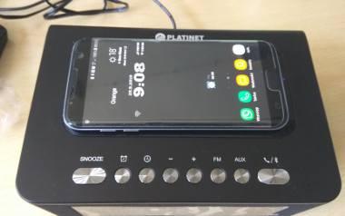 Platinet PMGQ10B: radiobudzik bluetooth z solidnym stereo i ładowarką indukcyjną - [NASZ TEST, FILM] - Laboratorium, odc. 14