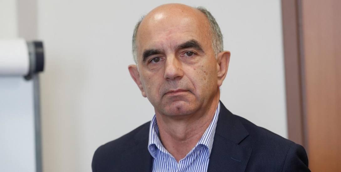 Dr Krzysztof Kaszuba, prezes Oddziału Polskiego Towarzystwa Ekonomicznego w Rzeszowie