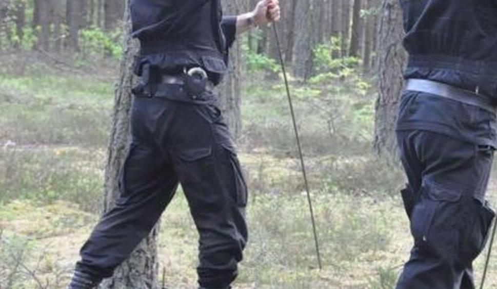 Film do artykułu: Tragedia w lesie koło Rzepina. Znaleziono ciało mężczyzny i broń