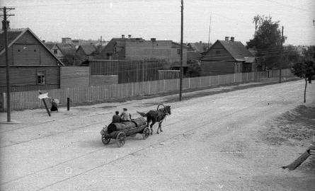 Ulica Bema w 1942 roku
