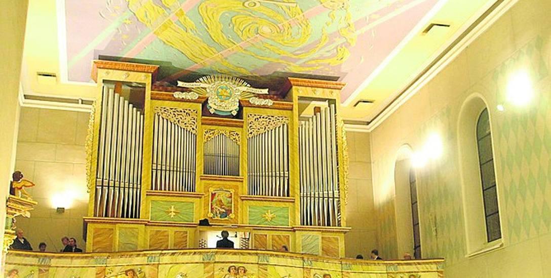 Piotr Czarnynoga był jednym z wielkich orędowników budowy nowych organów. Powstały w 2010 r. Wykończenie zrobiono teraz