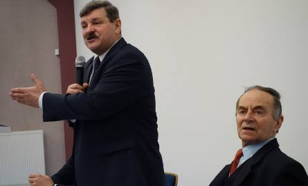 Spotkanie miało też na celu promowanie kandydata PSL i PO na senatora w wyborach uzupełniających 6 marca - Mieczysława Bagińskiego.