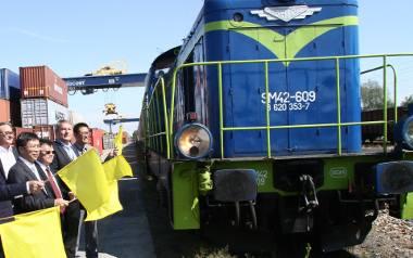 Odprawa pociągu z Łodzi do Chengdu. Pociągi miały być tylko wstępem do znacznie większego projektu