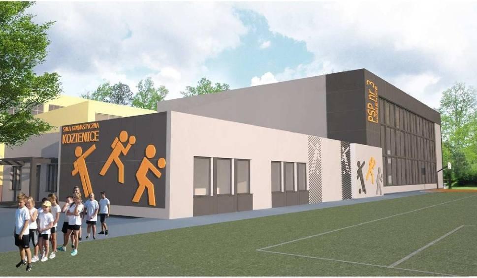 Film do artykułu: Szkoła Podstawowa numer 3 w Kozienicach ma nową salę gimnastyczną. Zobacz jak będzie wyglądała [ZDJĘCIA]
