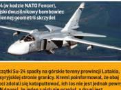 Turcy zestrzelili rosyjski bombowiec [WIDEO]