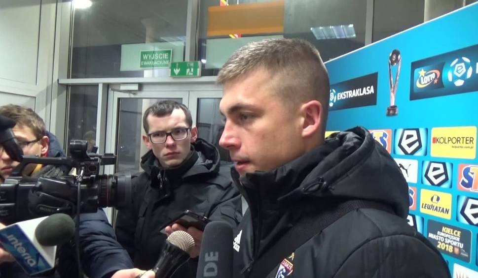 Film do artykułu: Adam Wolniewicz: Mieliśmy określony plan na ten mecz [WIDEO]