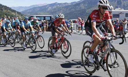 Alberto Contador wróciłdo żywych