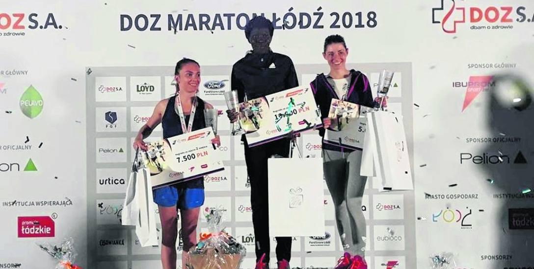 Natalia Mierzlikin w Łodzi zdobyła II miejsce podczas miejscowego maratonu. W nagrodę wręczono jej czek na 7,5 tys. zł, ale pieniędzy tych realnie nie