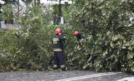 IMGW ostrzega mieszkańców Podkarpacia przed burzami, intensywnym deszczem i gradem