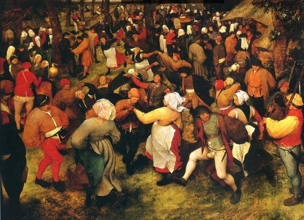 Pieter Bruegel Starszy, Taniec wiejski, ok. 1566 roku