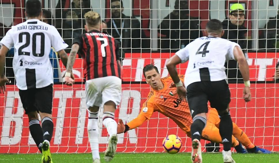 Film do artykułu: Liga włoska. Wojciech Szczęsny obronił rzut karny. Juventus pokonał Milan