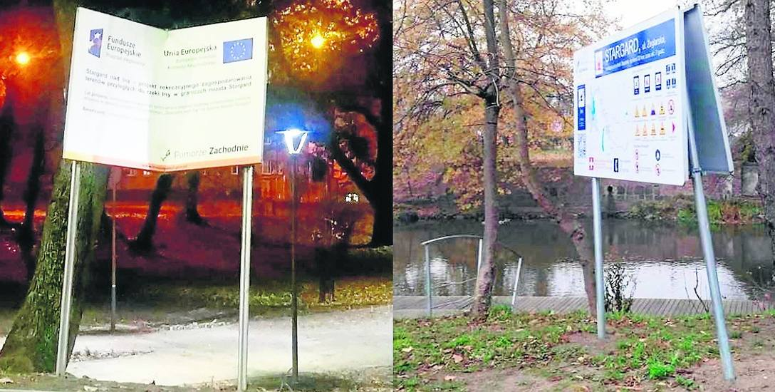 Tablice informacyjne stojące w różnych rejonach miasta to częste obiekty ataku chuliganów. Sprawców dewastacji rzadko udaje się zatrzymać. Miastu pozostaje