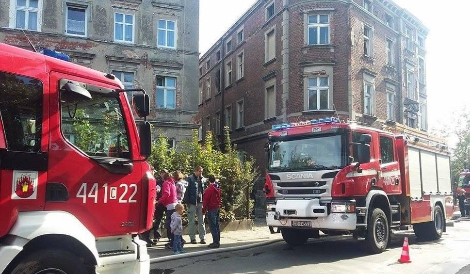Film do artykułu: Pożar mieszkania przy Rybackiej w Grudziądzu [zdjęcia]