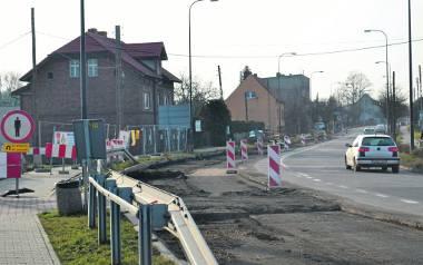 W tym rejonie fragment nowej trasy włączy się do ulicy Daszyńskiego w Gliwicach. Tu także kierowcy w godzinach szczytu muszą się liczyć z utrudnieni