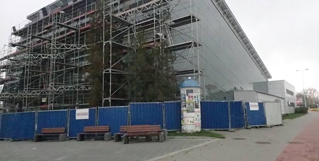 W listopadzie zaczną się odbiory włocławskiej hali OSiR