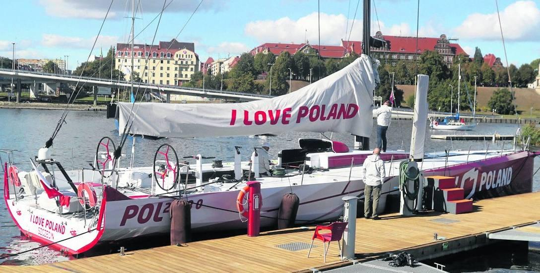 Jacht miał być prowadzony przez szczecinianina Mateusza Kusznierewicza, ale PFN zmieniła zdanie