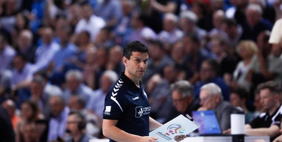 Lorenzo Micelli, trener Developresu Rzeszów: W pewnym momencie coś faktycznie przestało funkcjonować