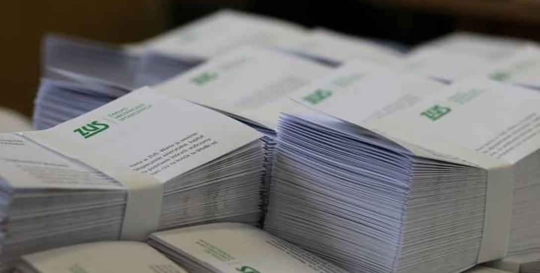 Bydgoski Oddział Wojewódzki ZUS w tym roku wyśle około miliona listów zawierających prognozę emerytury osoby ubezpieczonej.
