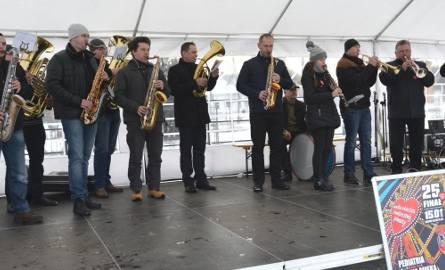 Podczas koncertu plenerowego na rynku zagrała także Orkiestra Dęta imienia Jana III Sobieskiego z Nowego Korczyna.