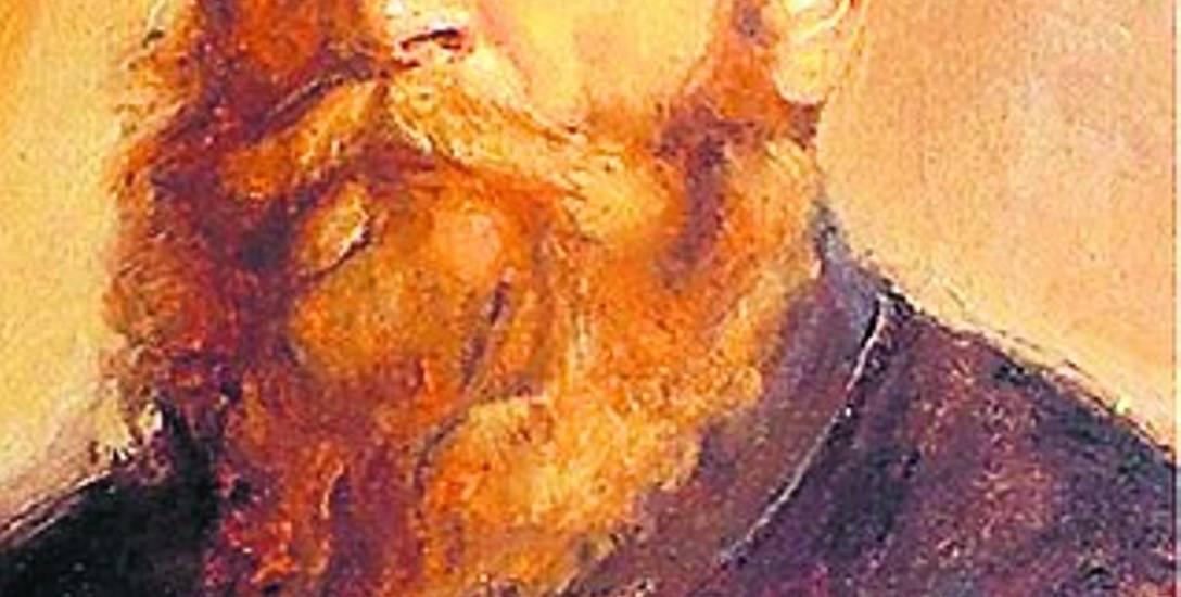 """W zbiorach Muzeum w Łowiczu znajduje się szkic malarski Józefa Chełmońskiego """"Krajobraz nad jeziorkiem w lesie"""""""