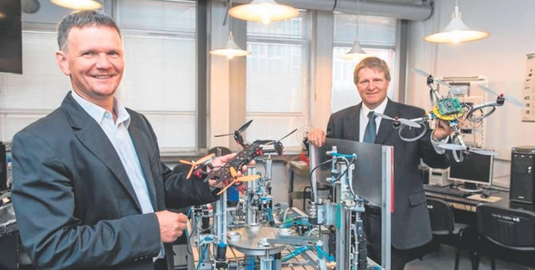 Bogusław Szlachetko, dyrektor ds. badań i rozwoju Sky Tronic (od lewej) i Michał Lower, dyrektor ds. rozwoju produktów Sky Tronic