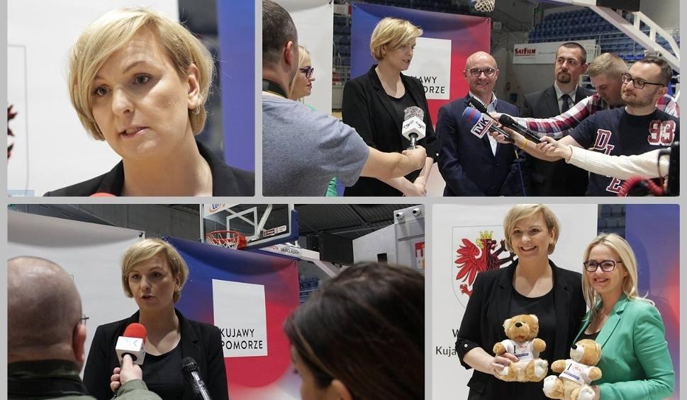 Film do artykułu: Otylia Jędrzejczak wraz z mistrzyniami będzie promować sport we Włocławku [zdjęcia, wideo]
