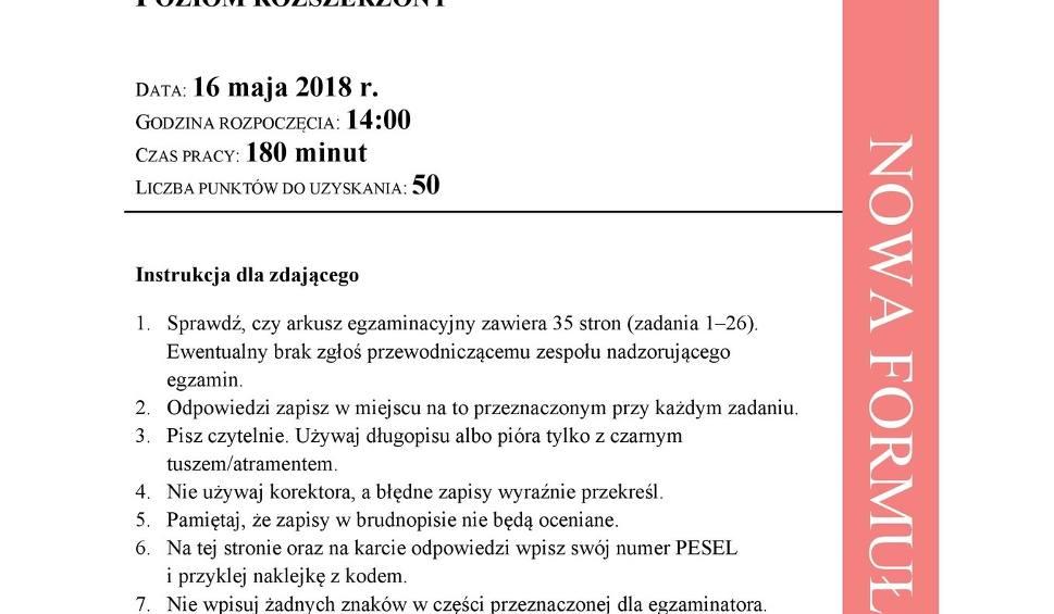 Film do artykułu: Matura Historia rozszerzona 2018 [Arkusze CKE, Odpowiedzi, Rozwiązania] 16.05.2018
