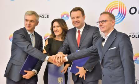 Podpisanie umowy pomiędzy Polskim Funduszem Rozwoju, Opolem i spółką Wodociągi i Kanalizacja